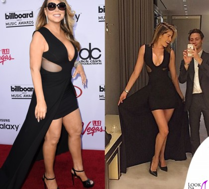 Mariah Carey Aida Yespica abito Tom Ford