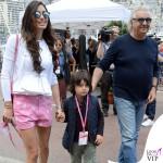 Montecarlo Gran Premio di Formula1 Elisabetta Gregoraci shorts Moschino borsa Celine Nathan Falco Flavio Briatore 2