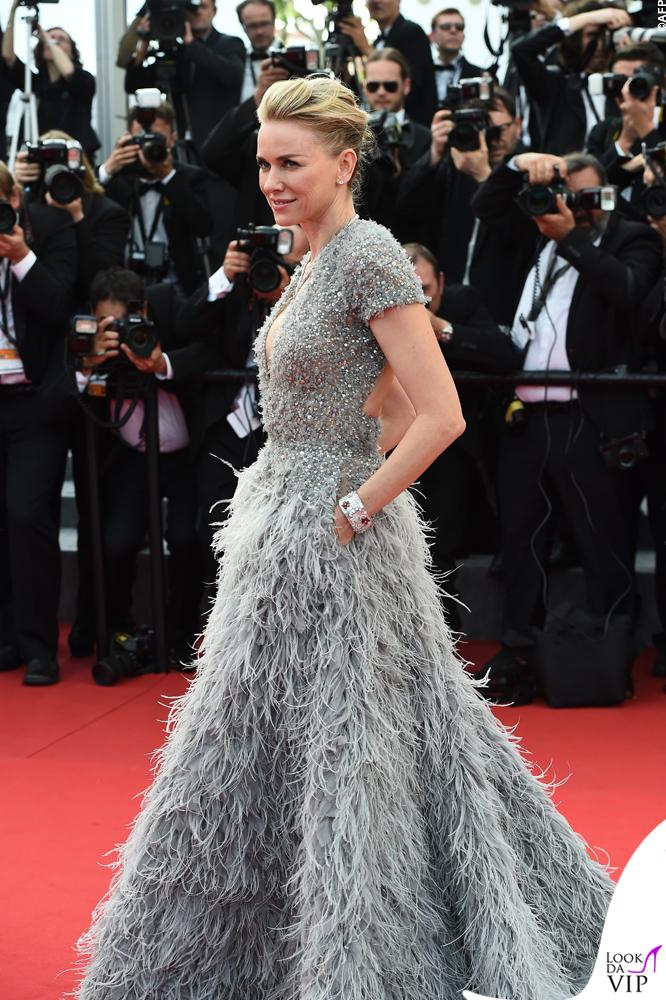 Naomi Watts Cannes 2015 abito Elie Saab gioielli Bulgari 15