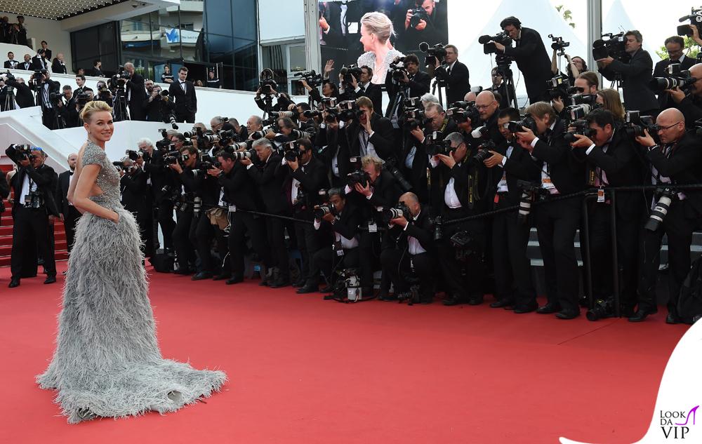 Naomi Watts Cannes 2015 abito Elie Saab gioielli Bulgari 16