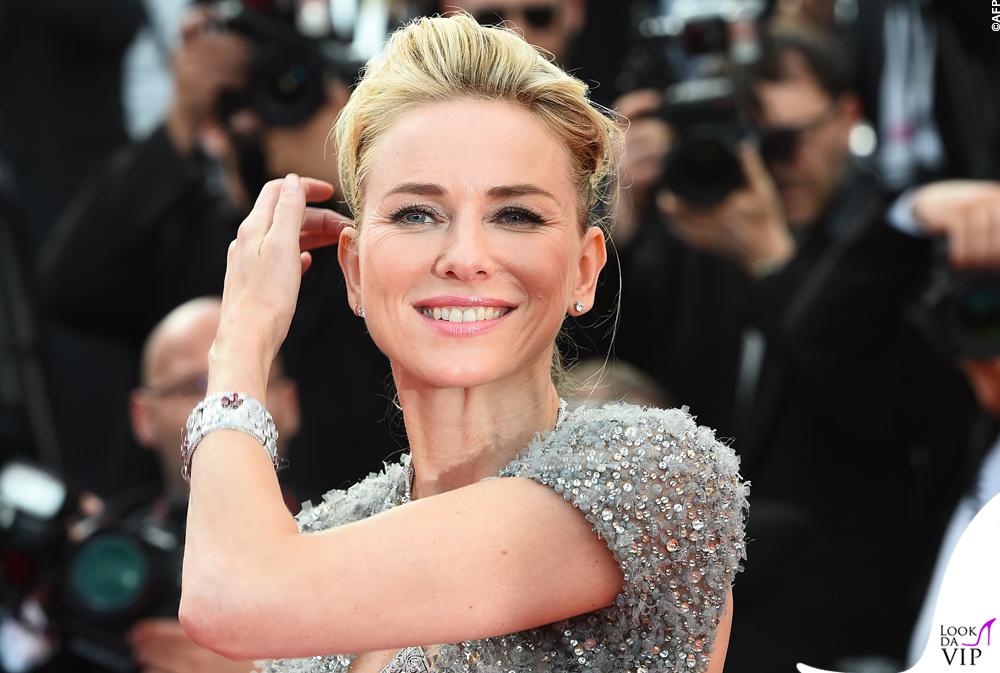 Naomi Watts Cannes 2015 abito Elie Saab gioielli Bulgari 4