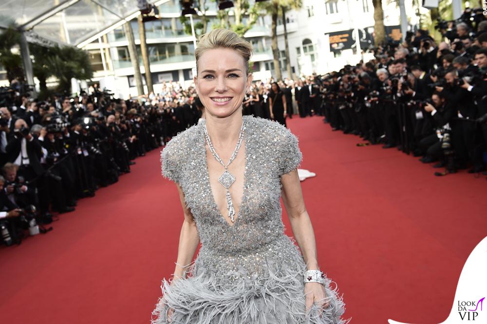 Naomi Watts Cannes 2015 abito Elie Saab gioielli Bulgari 6