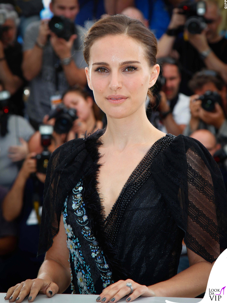 Natalie Portman Cannes 2015 abito Rodarte 2