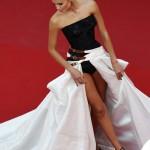 Natasha Poly Cannes 2015 abito Atelier Versace