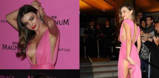 Miranda Kerr Cannes 2015 abito Emanuel Ungaro