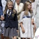 prima comunione Leonor di Spagna Sofia abito Nanos Letizia abito Felipe Varela scarpe borsa Magrit 4