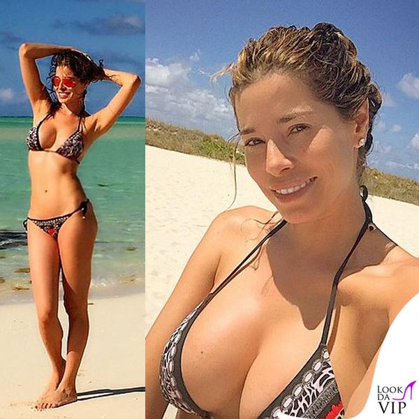 Aida Yespica bikini Roberto Cavalli