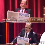 Cristiano Malgioglio Grand Hotel Chiambretti ultima puntata abito Brian Dales scarpe Loriblu 7