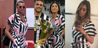Cristina Chiabotto Federica Nargi Melissa Satta tuta Gelle Bonheur