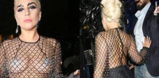 Lady Gaga Londra abito Francesco Scognamiglio fascinator Philip Treacy