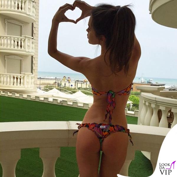 Margot Ovani bikini Bki Branz Bikini
