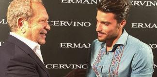 Mariano Di Vaio Ermanno Scervino MFW sfilata Ermanno Scervino