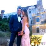 Matrimonio Francesco Sarcina Clizia Incorvaia Aaron Diaz Lola Ponce abito Ermanno Scervino