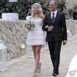 Matrimonio Francesco Sarcina Clizia Incorvaia abito Trussardi scarpe Ballin 3