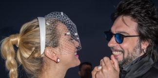 Matrimonio Sarcina Incorvaia Francesco Sarcina abito Carlo Pignatelli Clizia Incorvaia abito Trussardi scarpe Ballin