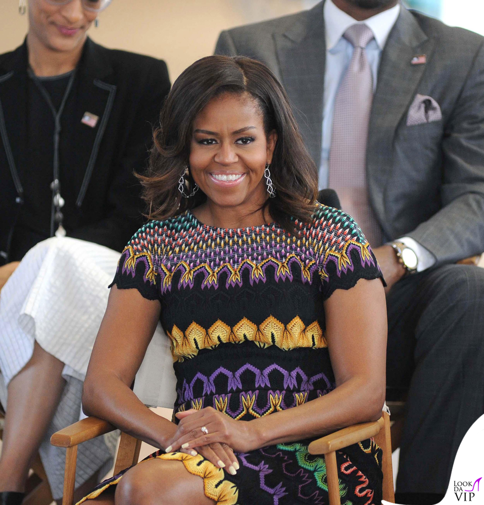 watch 6164d d445d Michelle Obama visits Expo 2015 - Look da Vip