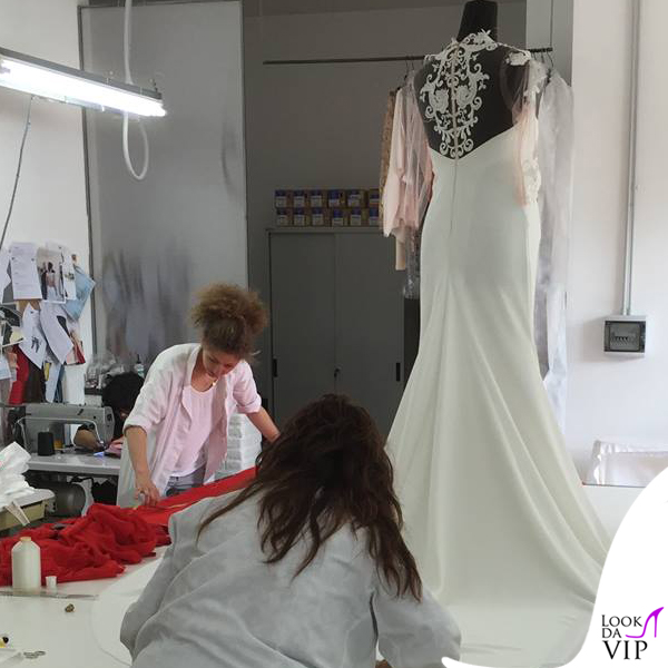 Nozze Esposito Tatangelo abito da sposa Francesco Paolo Salerno