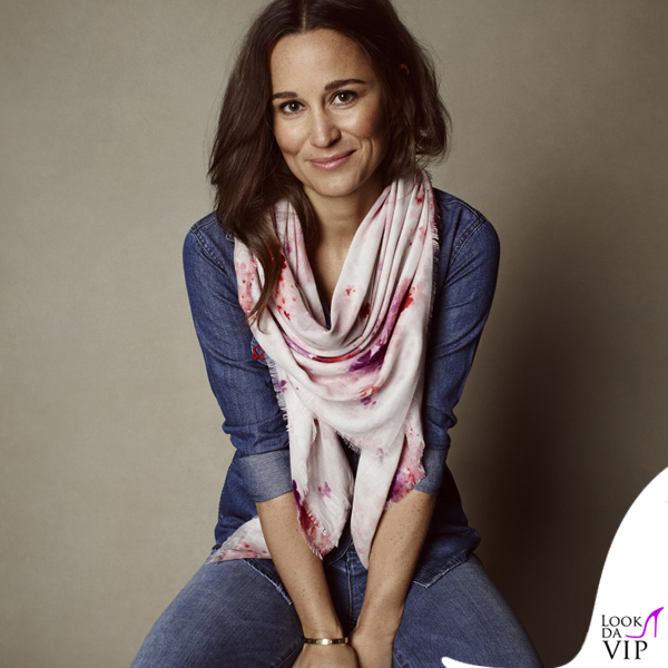 Pippa Middleton for Tabitha Webb sciarpa