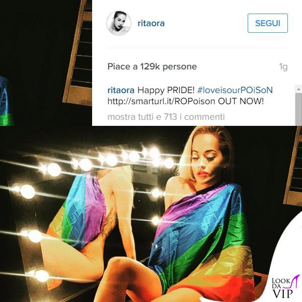 Rita Ora concerto Gay Londra backstage 2