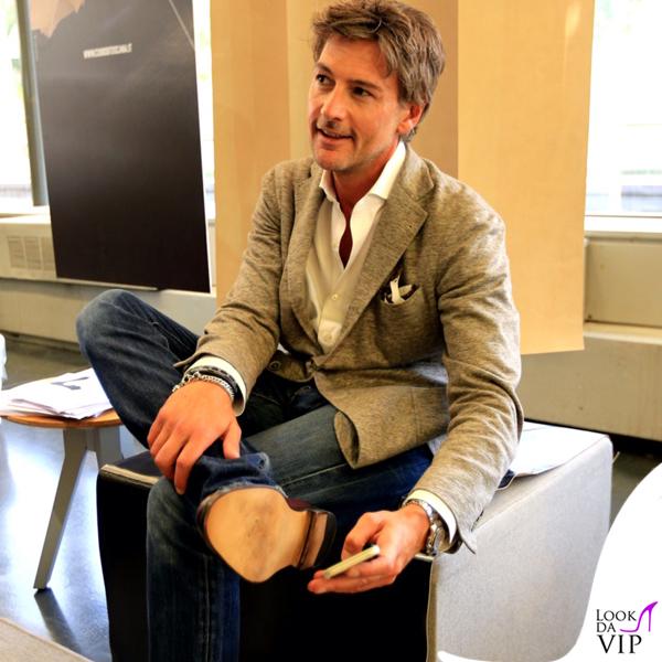 Roberto Farnesi Pitti Immagine Uomo 88 calzature Cuoio di Toscana 2