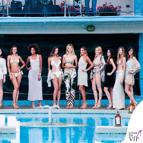 Tennis club milano sfilata raffaela d 39 angelo 5 look da vip for Cena in piscina