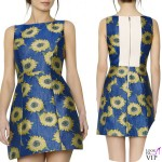 abito Alice and Olivia by Stacey Bendet EPSTEIN POUF DRESS
