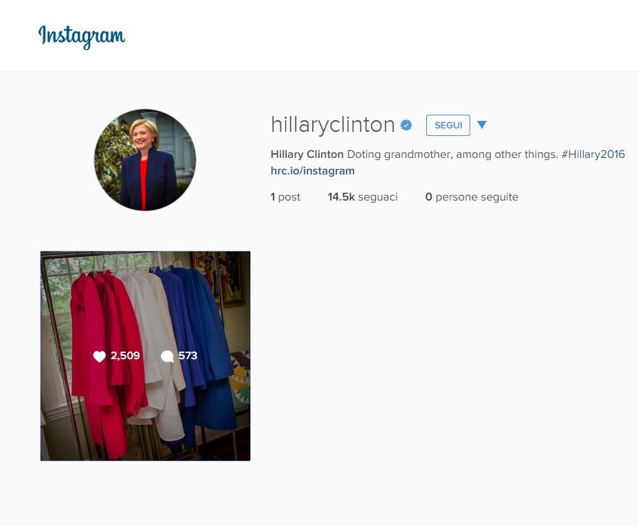 hillary clinton instagram (1)