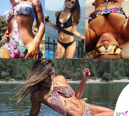 Barbara Pedrotti Dayane Mello Natalia Mesabush Giulia Calcaterra trikini