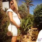 Clizia Incorvaia abito H&M borsa Elisabetta Franchi occhiali Vintage