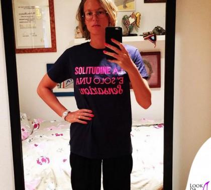 Federica Pellegrini tshirt Rotari La solitudine è solo una sensazione