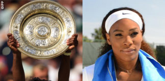 Serena Williams Wimbledon asciugamano Mission EnduraCool