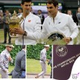 Wimbledon Novak Djokovic Roger Federer Lewis Hamilton