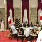 Agnese Renzi Giappone top e gonna Ermanno Scervino 4