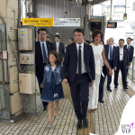 Agnese Renzi Giappone tuta borsa Ermanno Scervino 2