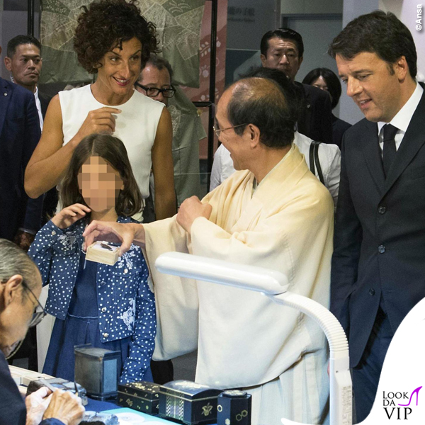 Agnese Renzi Kyoto tuta borsa Ermanno Scervino 3