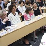 Agnese Renzi University of the Arts Tokyo top pantalone giacca Ermanno Scervino 2