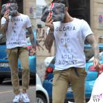 Fabrizio Corona maglia My T-shirt pochette Mia Bag 2