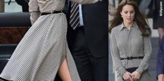 Kate Middleton abito Ralph Lauren scarpe Stuart Weitzman clutch Mulberry