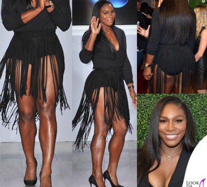 Serena Williams NYFW sfilata Serena Williams Signature Statement