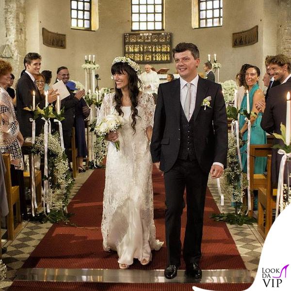 matrimonio Andrea Rigonat Elisa Toffoli abito Alberto Ferretti 5