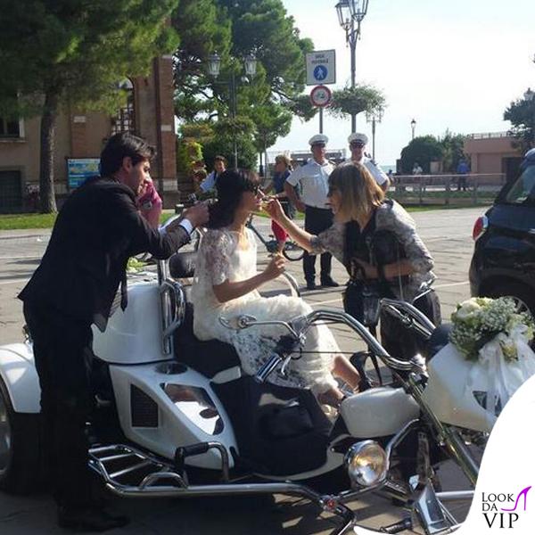 matrimonio Andrea Rigonat Elisa Toffoli abito Alberto Ferretti 7
