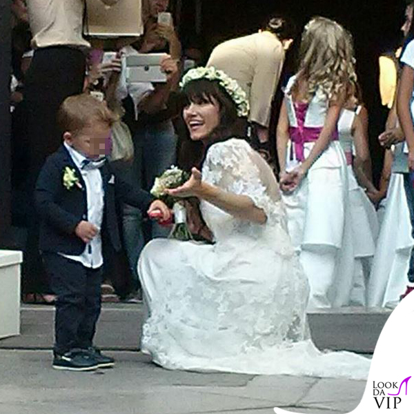 matrimonio Andrea Rigonat Elisa Toffoli abito Alberto Ferretti 9