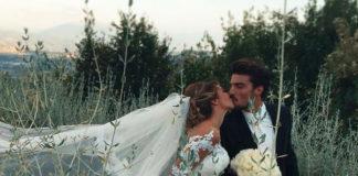 nozze Di Vaio Brunacci Mariano Di Vaio abito Carlo Pignatelli Eleonora Brunacci abito Alessandra Rinaudo fedi Damiani 2