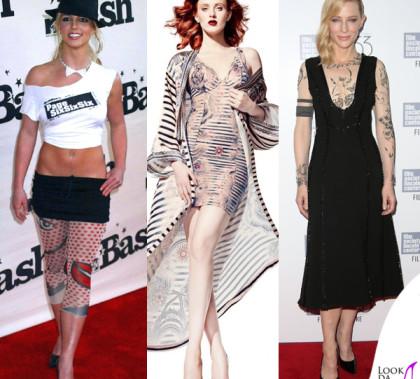 Britney Spears Karen Elson Cate Blanchett