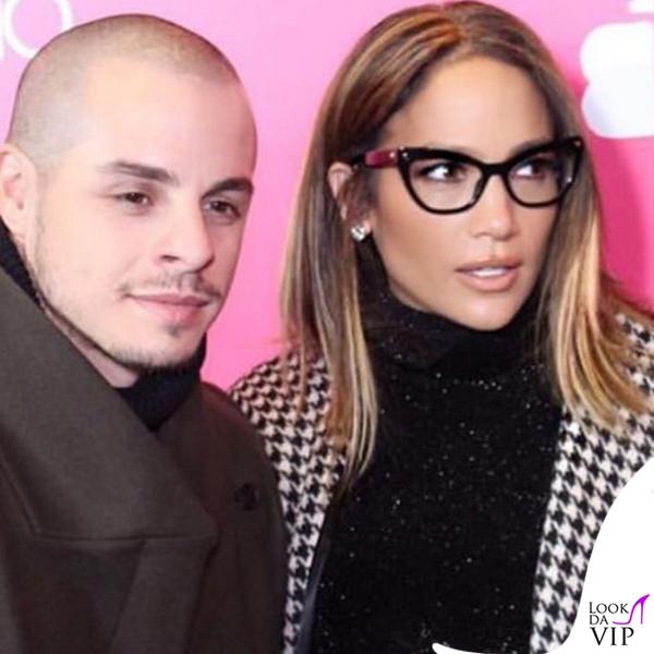 Casper Smart Jennifer Lopez occhiali cappotto Max Mara 6