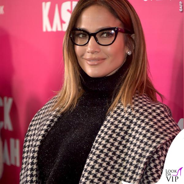 Jennifer Lopez occhiali cappotto Max Mara 2