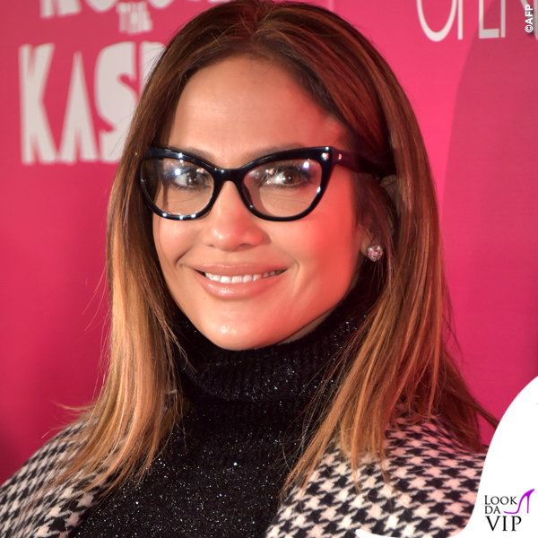 Jennifer Lopez occhiali cappotto Max Mara 3