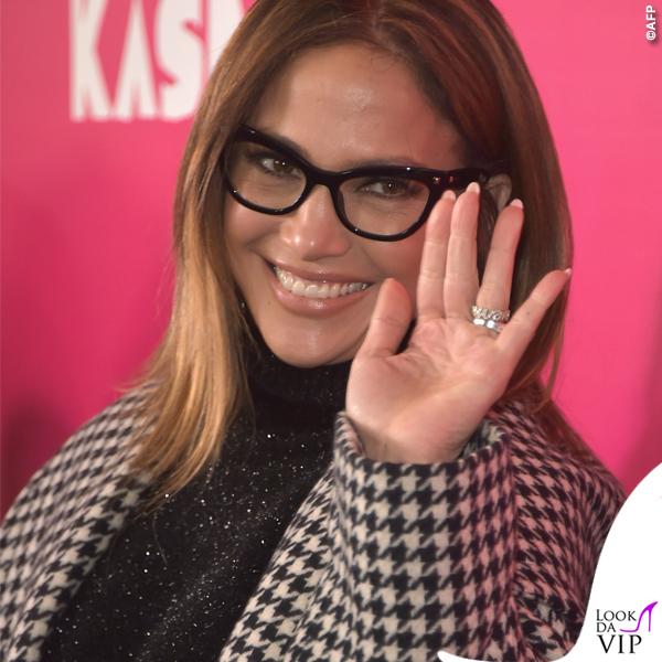Jennifer Lopez occhiali cappotto Max Mara 4