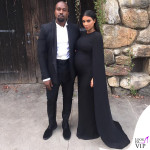 Kanye West Kim Kardashian abito Valentino