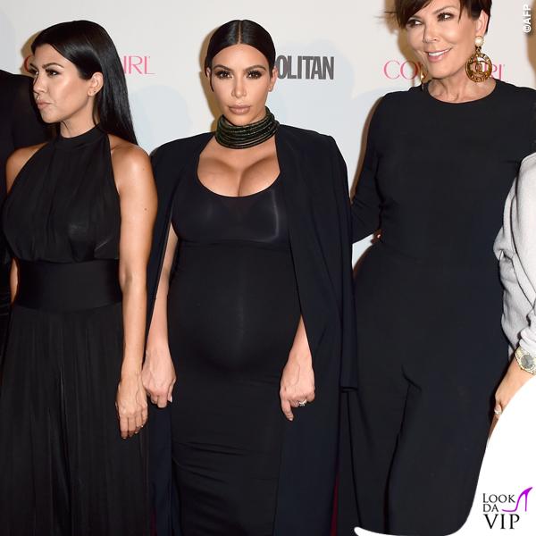 Khloe Kourtney Kim Kardashian Kris Kylie Jenner party Cosmopolitan 2